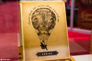 Cornelius & Anthony Aerial cigar box artwork IPCPR 2017