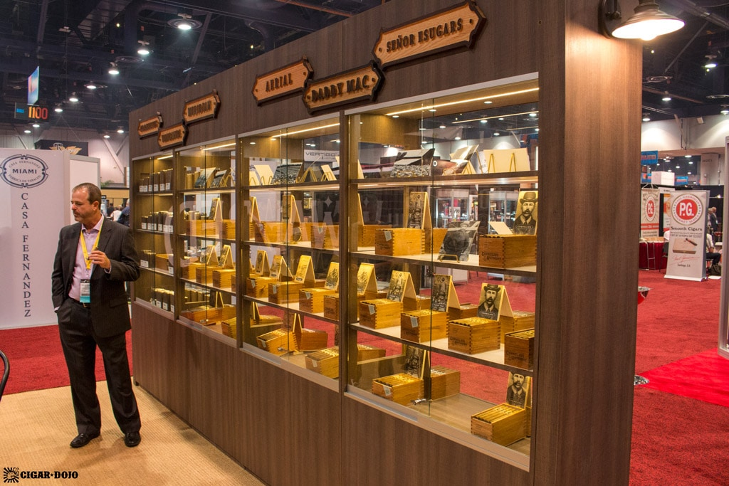 Cornelius & Anthony Premium Cigars booth display IPCPR 2017