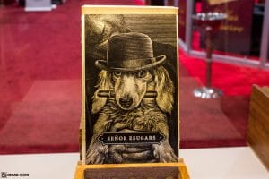 Cornelius & Anthony Señor Esugars cigar box artwork IPCPR 2017