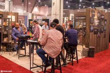 Crowned Heads booth IPCPR 2017