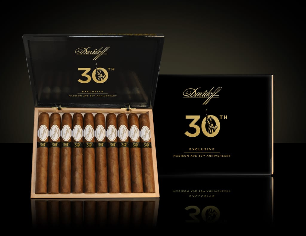 Davidoff Madison Avenue 30th Anniversary cigar presentation