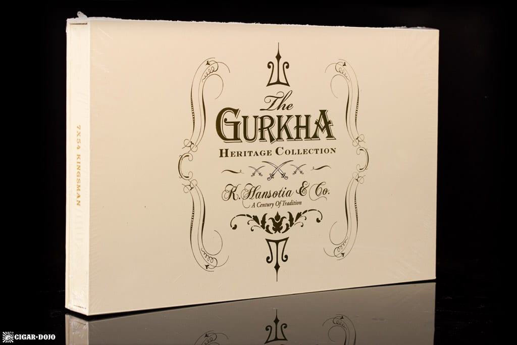Gurkha Heritage Collection Kingsman cigar box