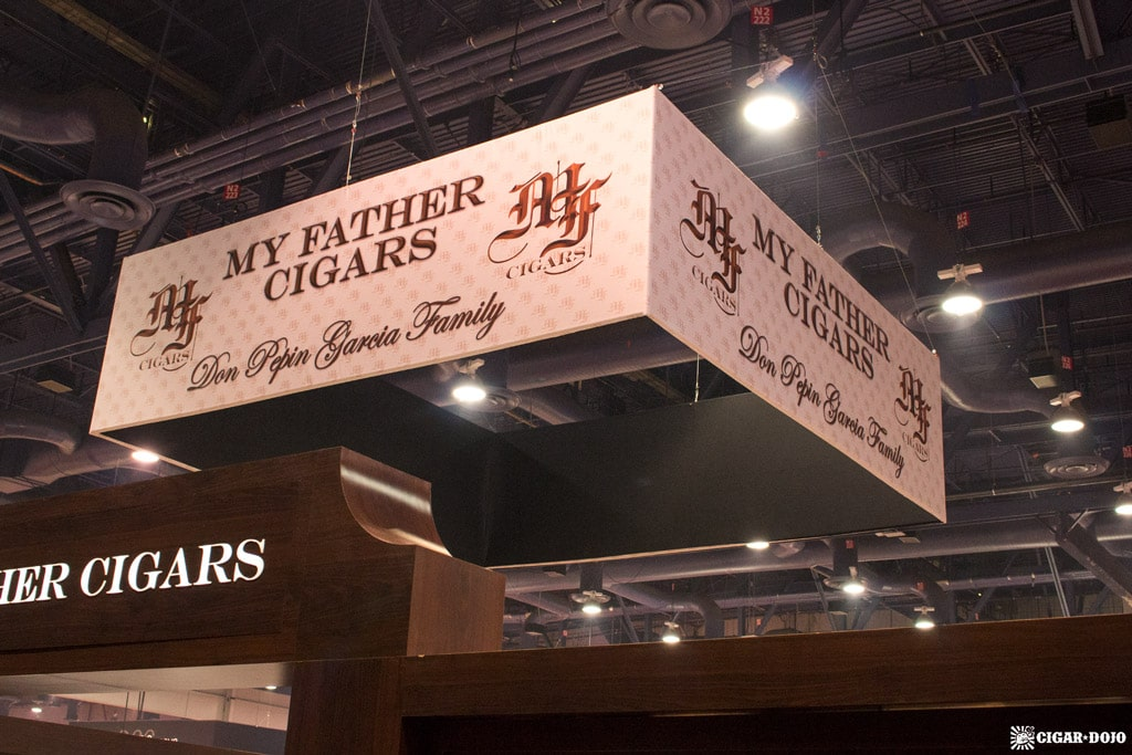 My Father Cigars booth IPCPR 2017