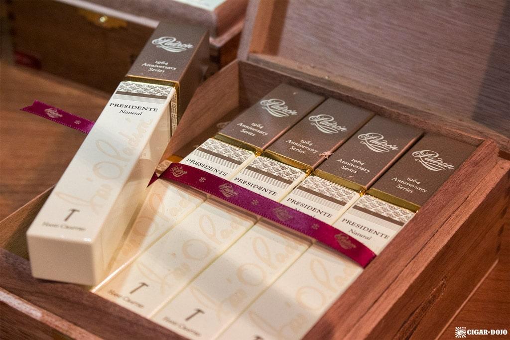 Padrón 1964 Presidente cigars display IPCPR 2017
