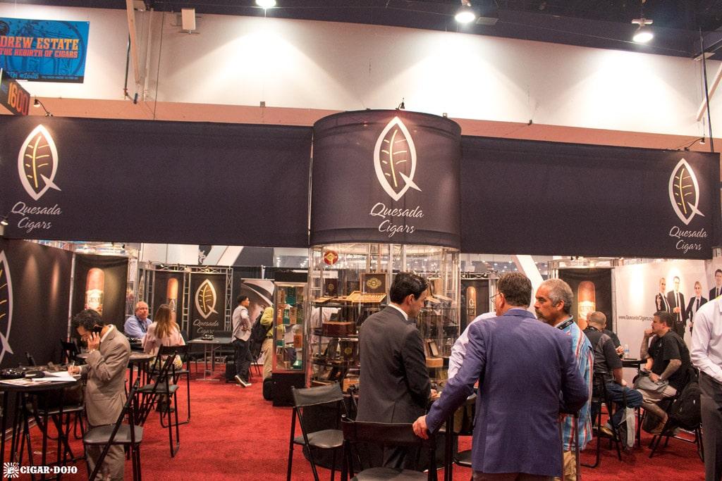 Quesada Cigars booth IPCPR 2017