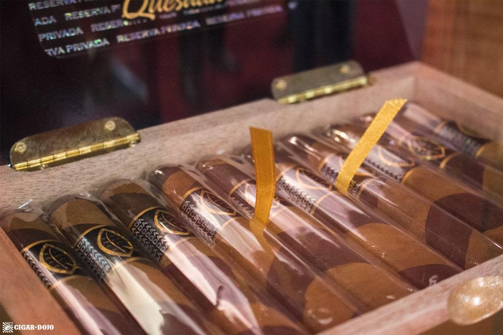 Quesada Reserva Privada Barber Pole cigars IPCPR 2017