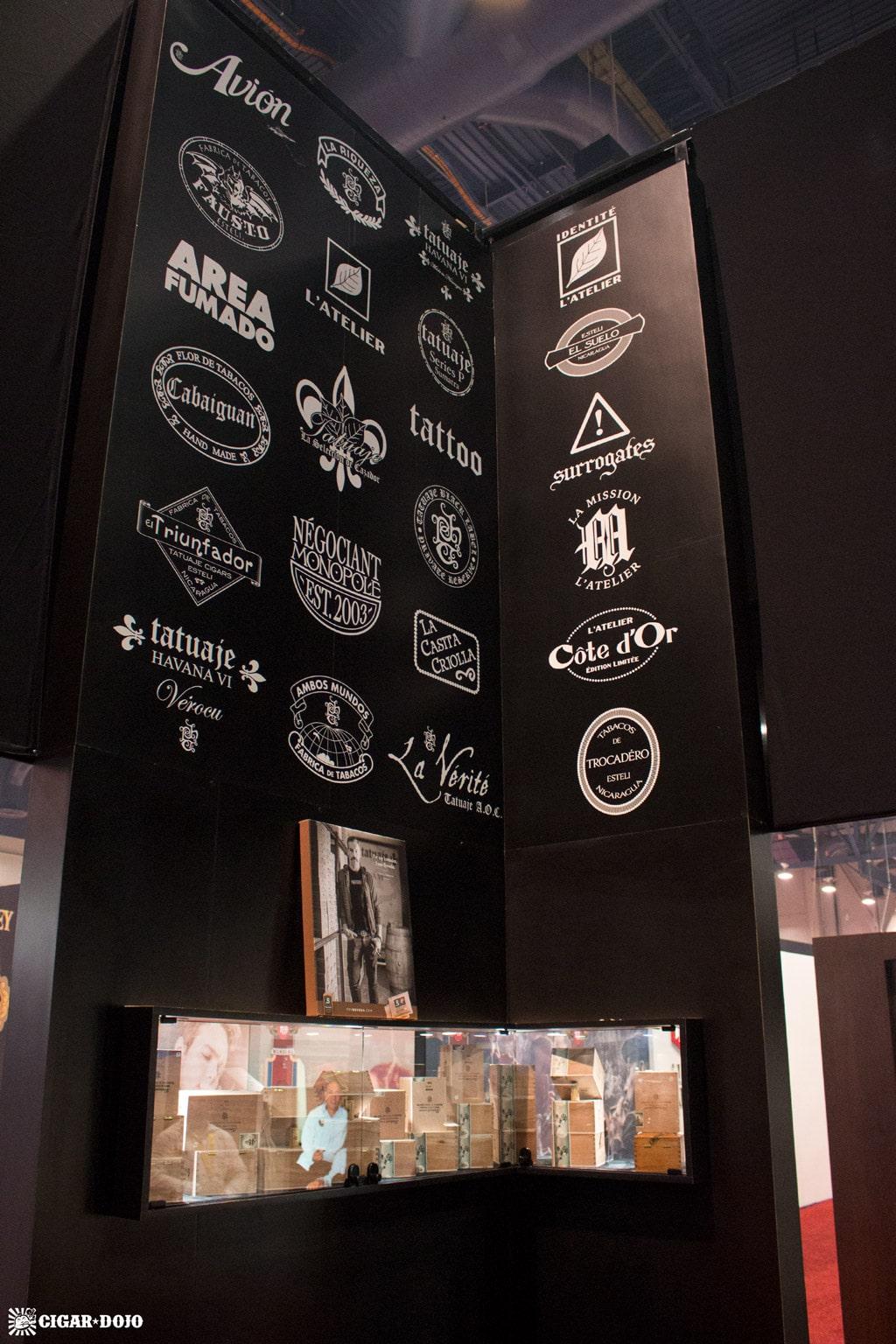 Tatuaje Cigars booth brands list IPCPR 2017