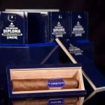 Camacho Diploma Special Selection Robusto cigar open box display