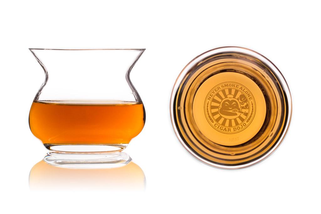 Cigar Dojo NEAT Whiskey Glasses full