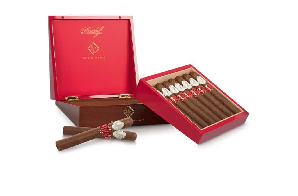 Davidoff Year of the Dog Limited Edition 2018 cigar display