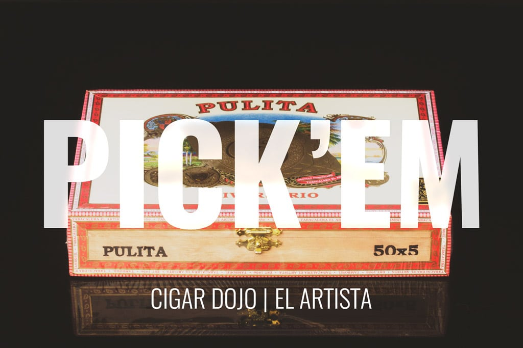 El Artista Cigars football Pick'em Contest
