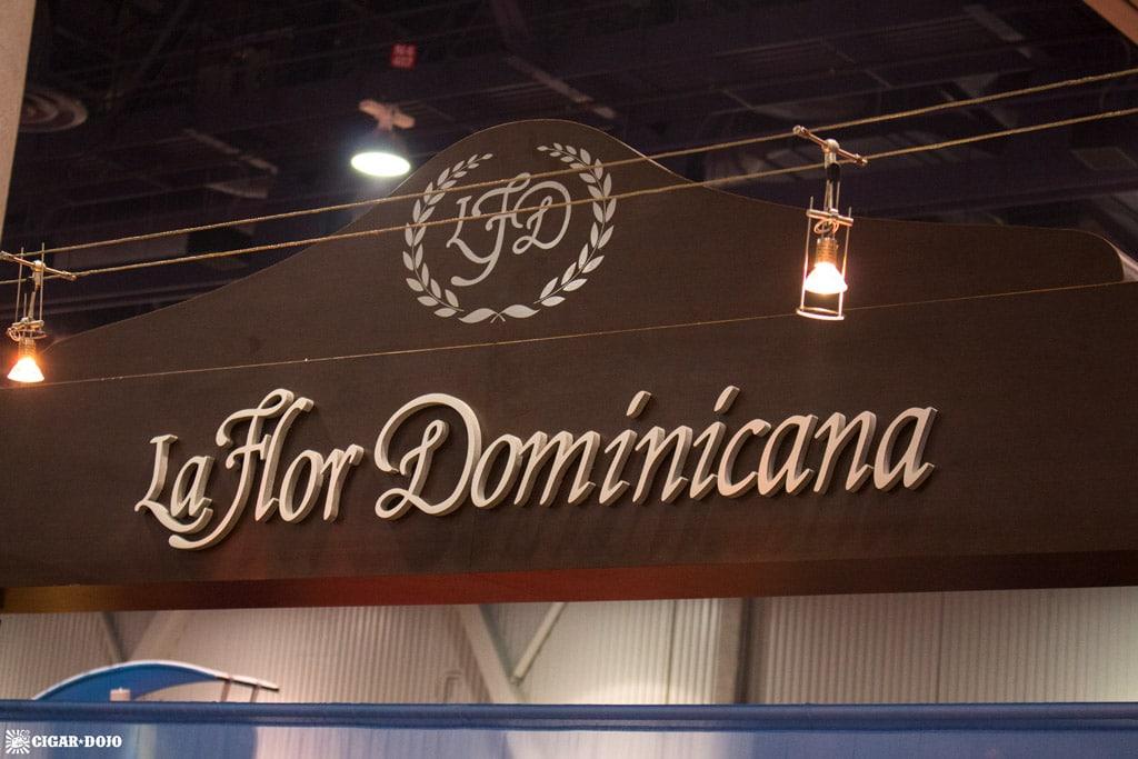 La Flor Dominicana cigar booth IPCPR 2017