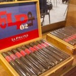 La Palina LP #2 open cigar box IPCPR 2017