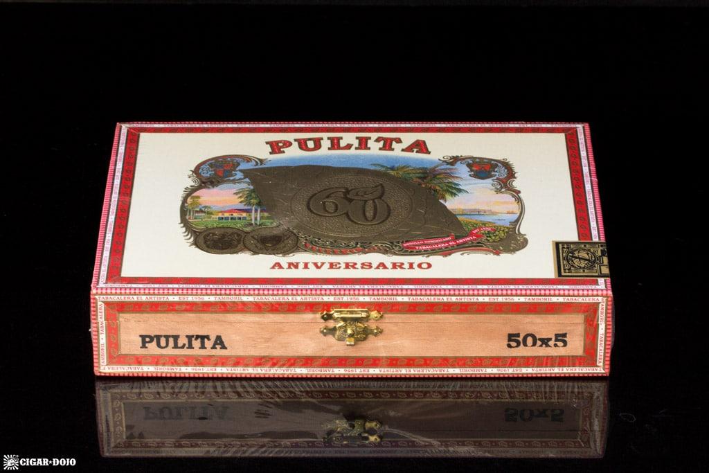 El Artista Pulita 60 Aniversario cigar box