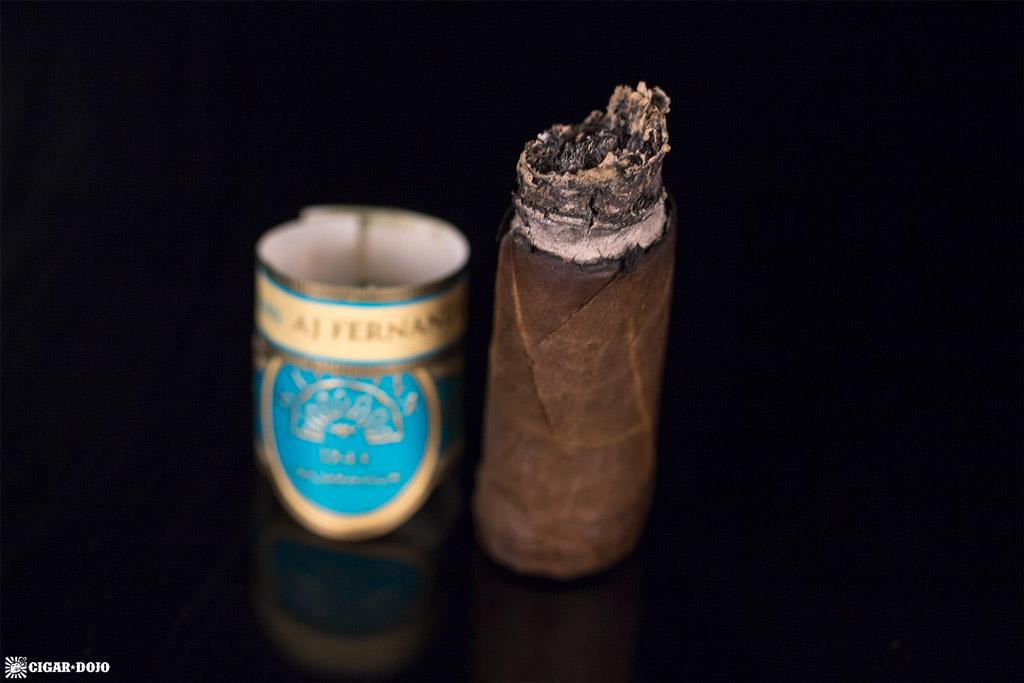 H. Upmann AJ Fernandez Toro cigar nubbed