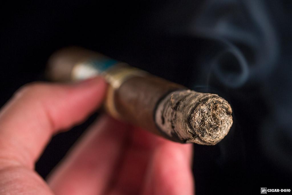 H. Upmann AJ Fernandez Toro smoking