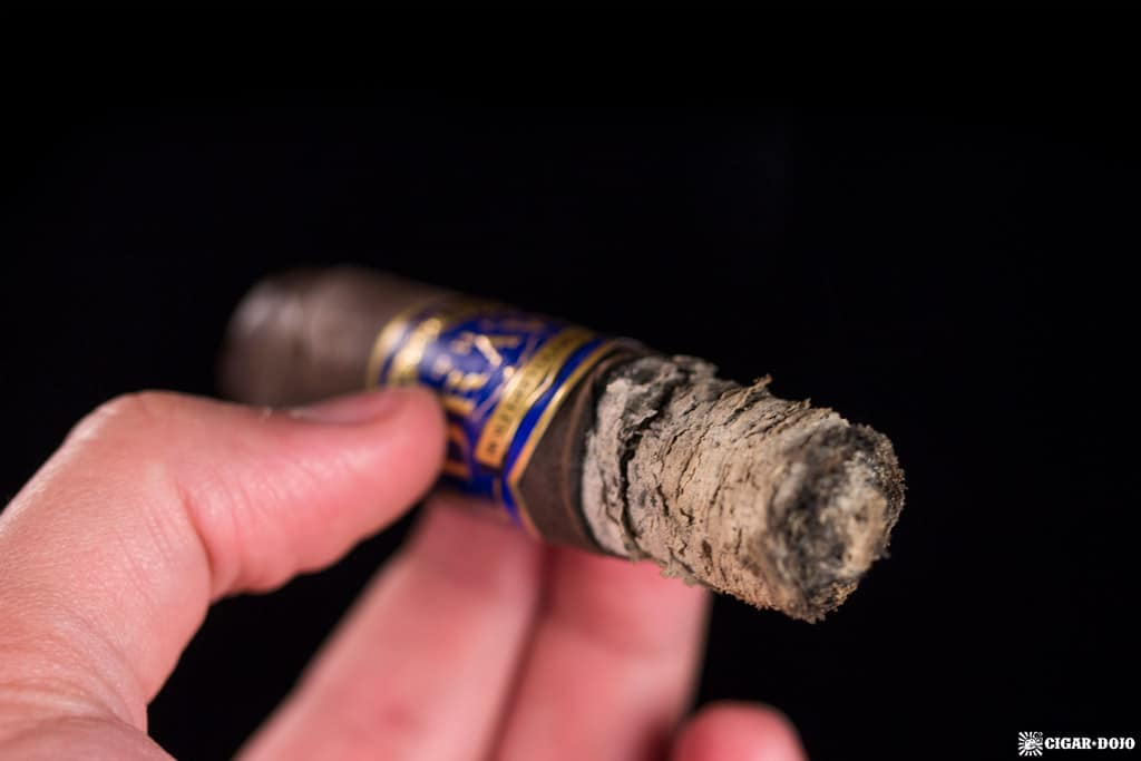 Southern Draw Jacobs Ladder Robusto cigar ash