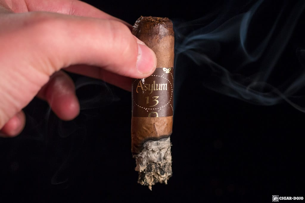 Asylum 13 Medulla Oblongata Robusto review