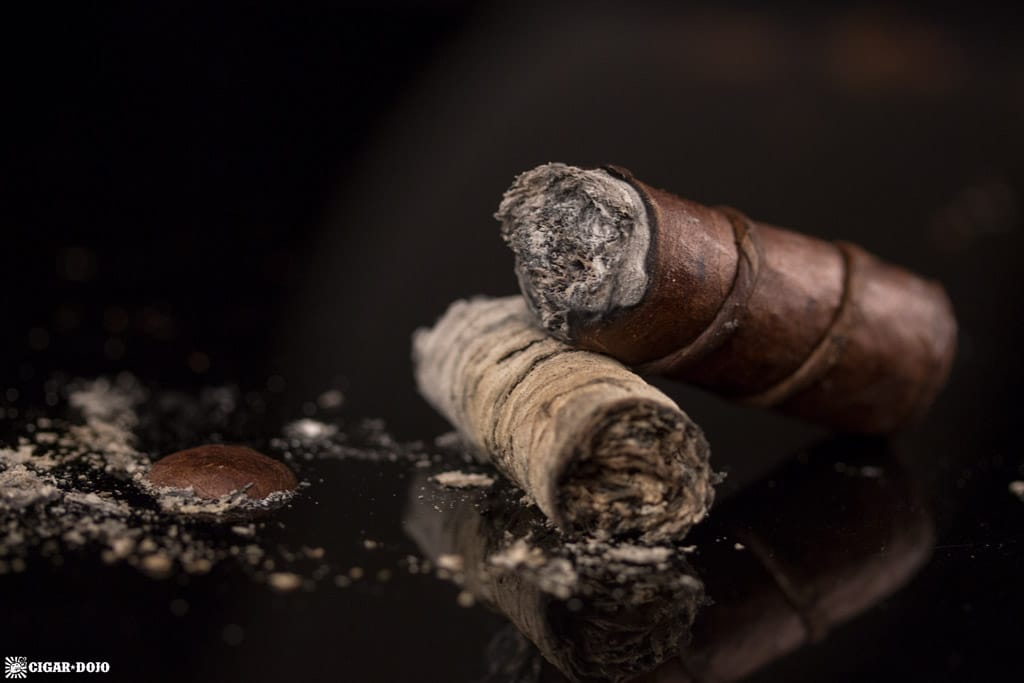CAO Amazon Anaconda Toro cigar nubbed