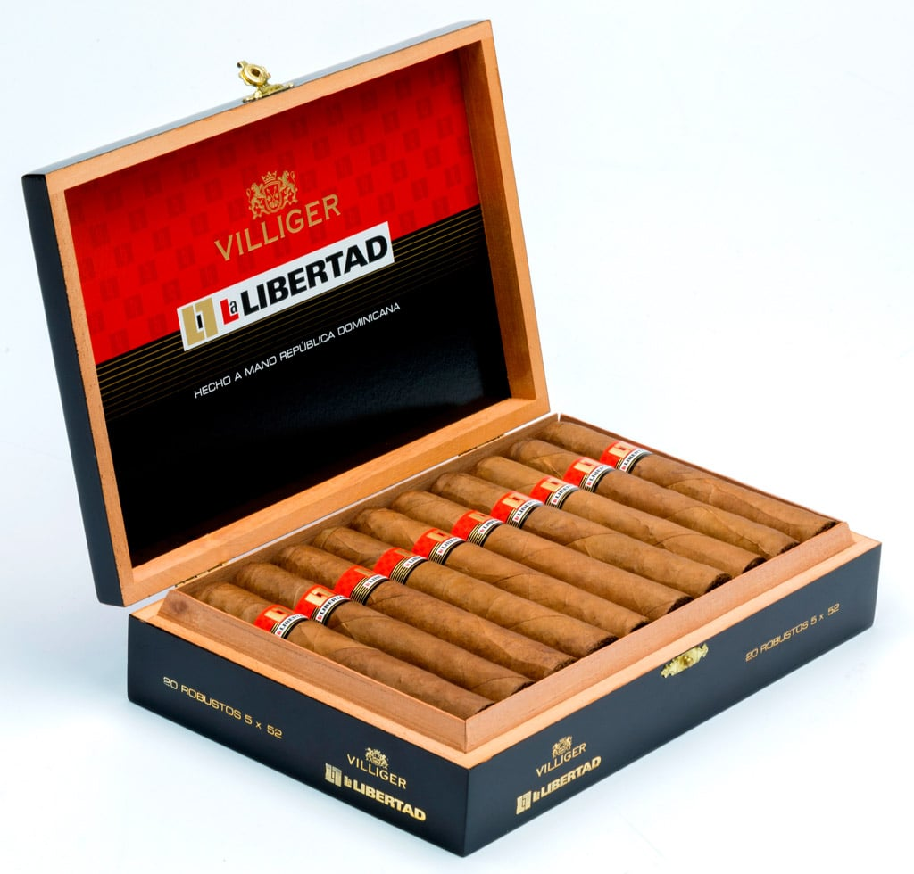 Villiger La Libertad updated packaging 2017
