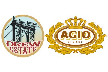 Drew Estate Royal Agio Cigars logos