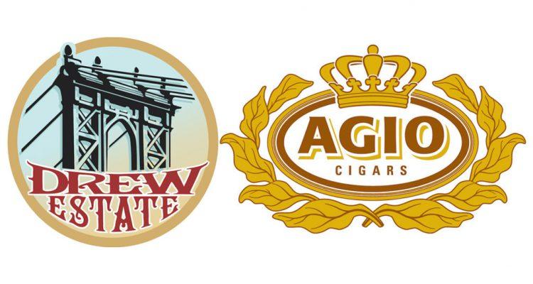 Drew Estate Royal Agio Cigars logos