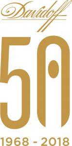 Davidoff 50th anniversary logo