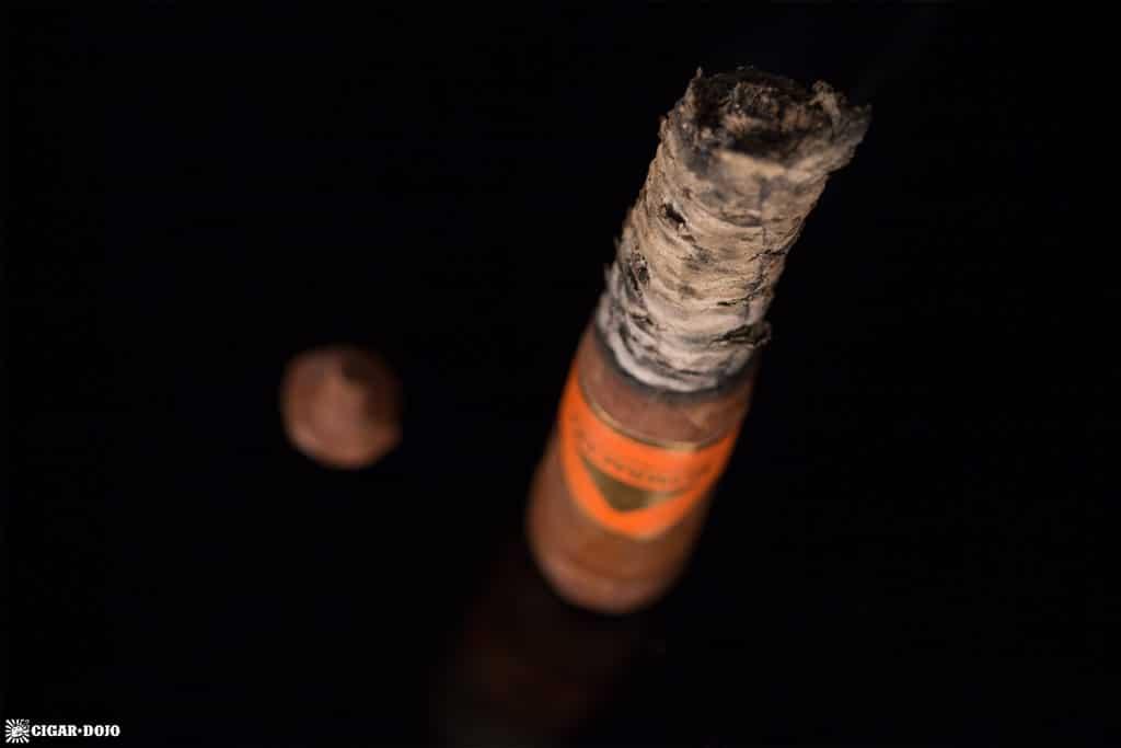 Mombacho Cosecha 2012 cigar nubbed