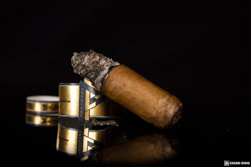 Protocol Themis Toro cigar nubbed