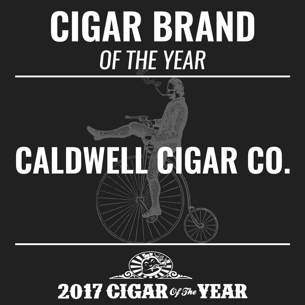 Caldwell Cigar Co. Brand of the Year Award 2017