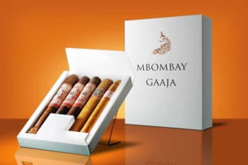 MBombay Sample Pack cigar presentation