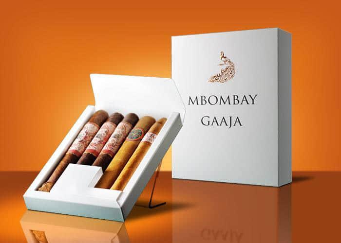 MBombay Sample Pack cigar presentation