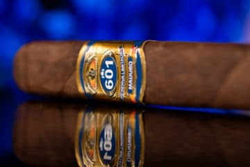 Espinosa 601 Blue Label Maduro Short Churchill cigar review