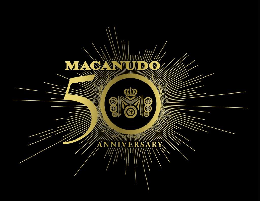 Macanudo 50th Anniversary logo