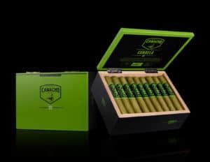 Camacho Candela Robusto 2018 cigar box presentation