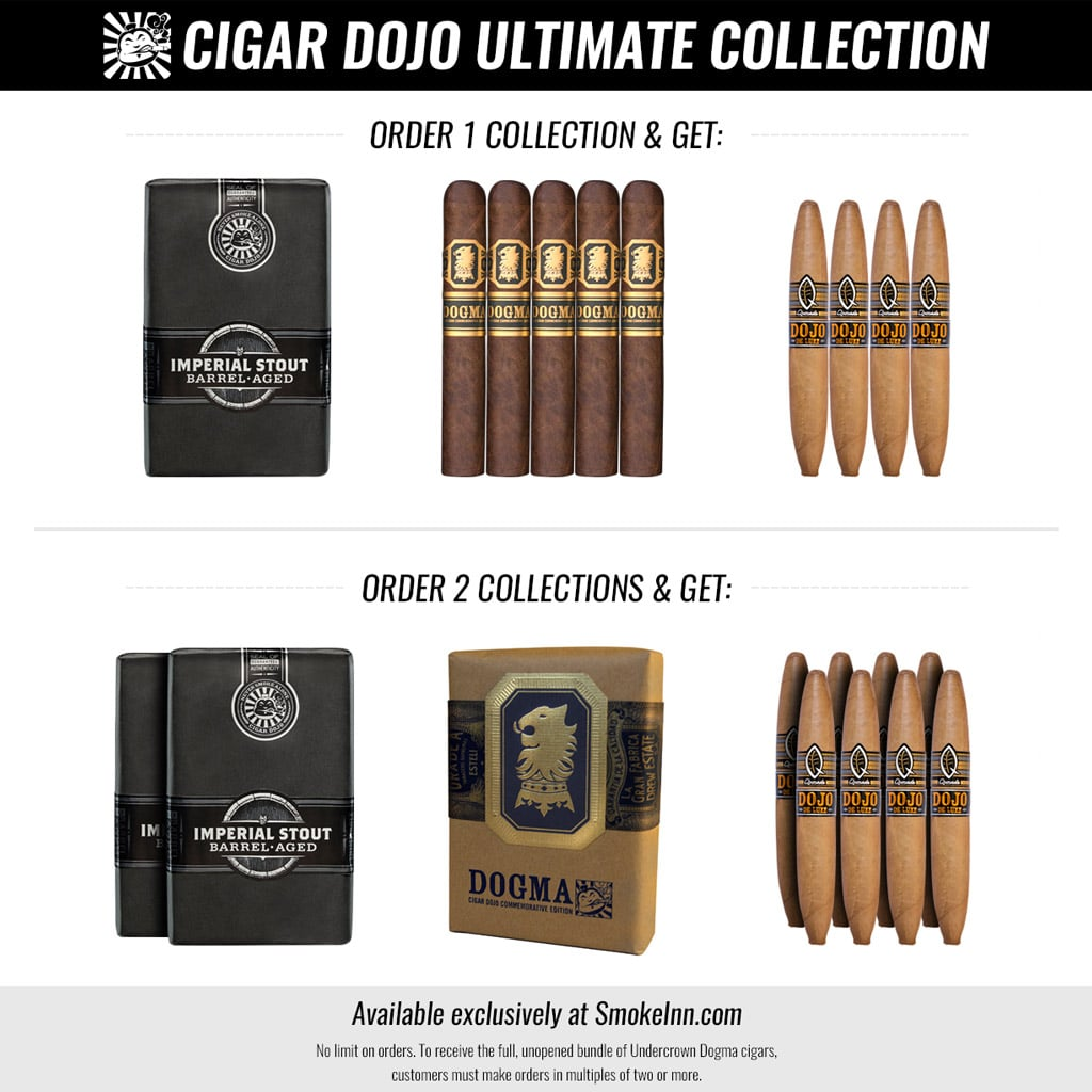 Cigar Dojo Ultimate Collection cigar sampler explanation