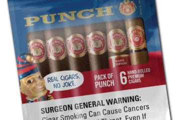 Pack of Punch cigars