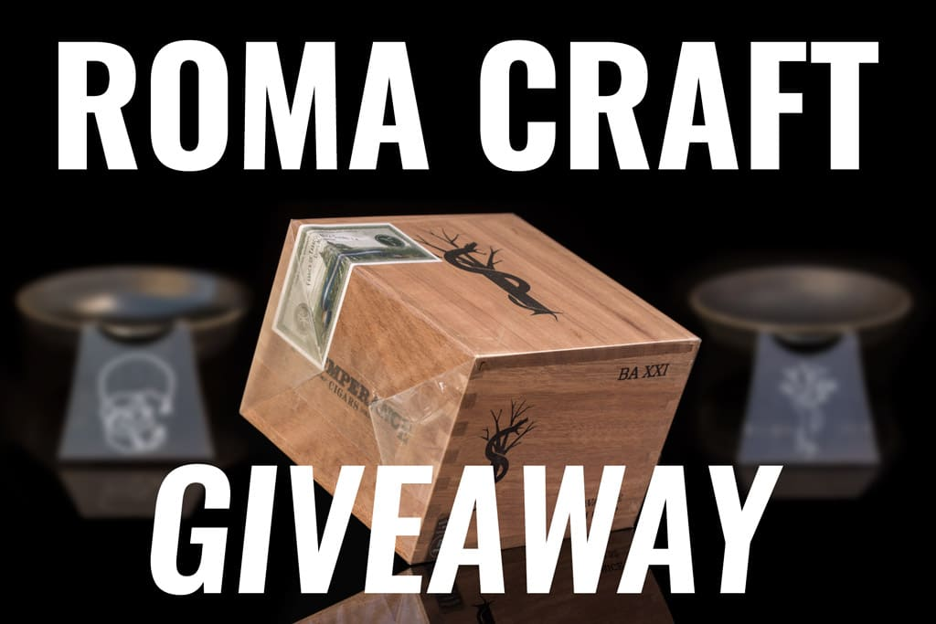 RoMa Craft Cigars giveaway