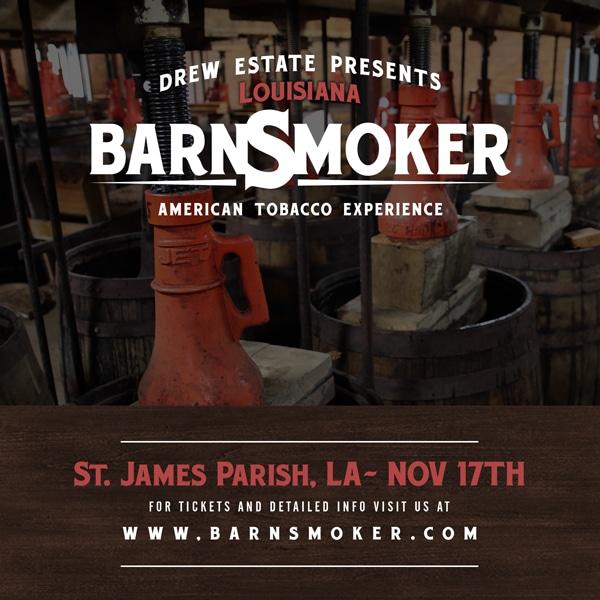 Drew Estate Louisiana Barn Smoker 2018