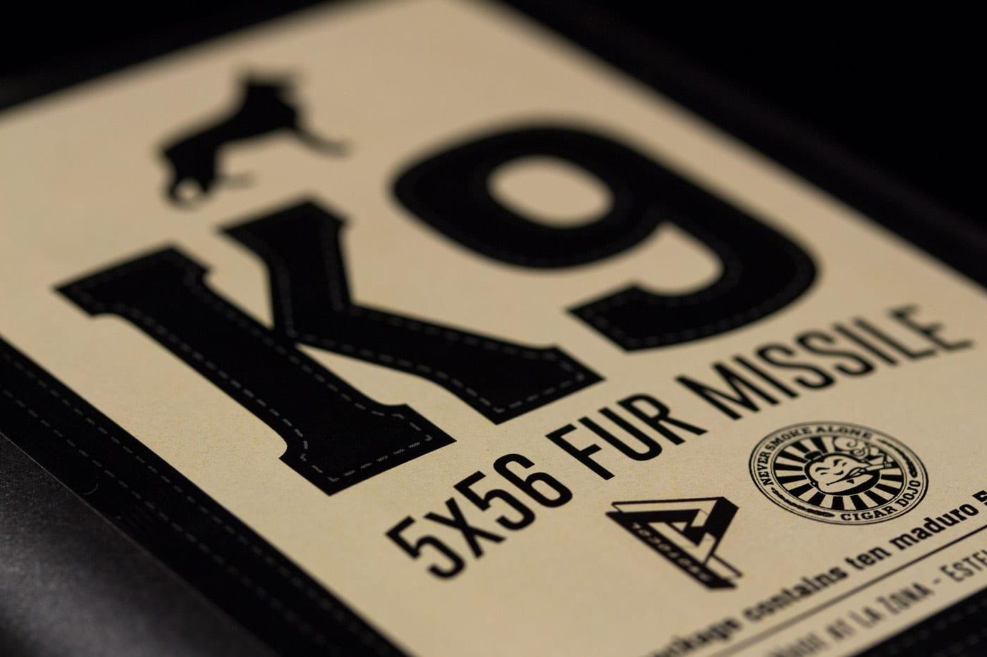 Protocol K9 cigar bundle label