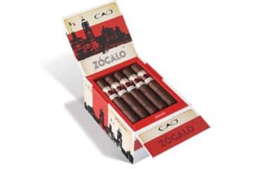 CAO Zócalo open cigar box