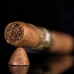Debonaire Habano Belicoso cigar head