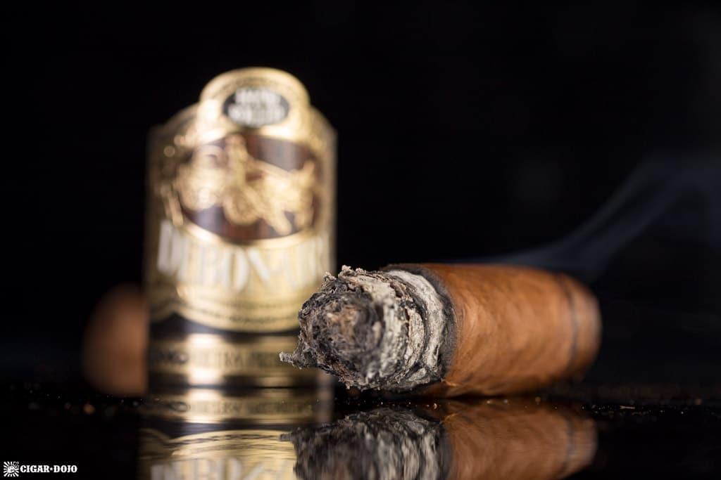 Debonaire Habano Belicoso cigar nubbed