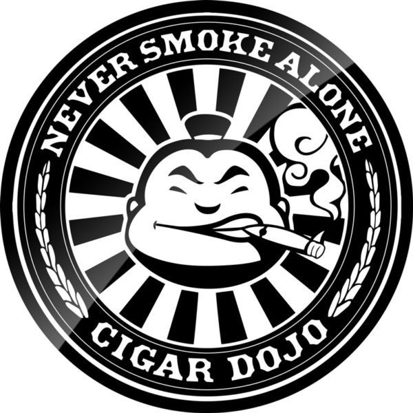 Cigar Dojo Insignia Sticker