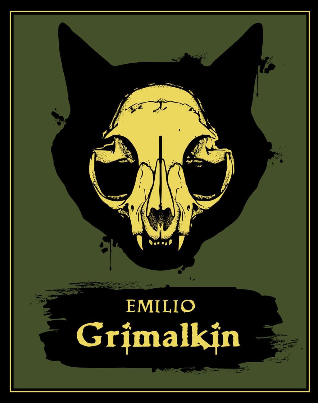Emilio Grimalkin 2018 design