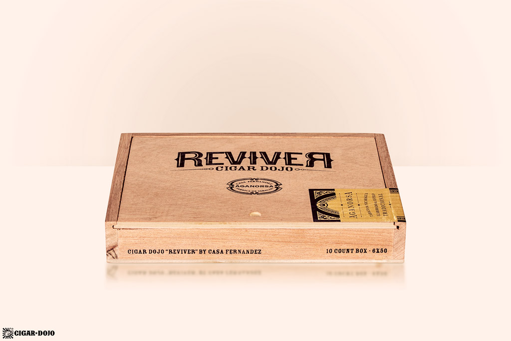 Cigar Dojo Aganorsa Leaf ReviveR cigar box presentation