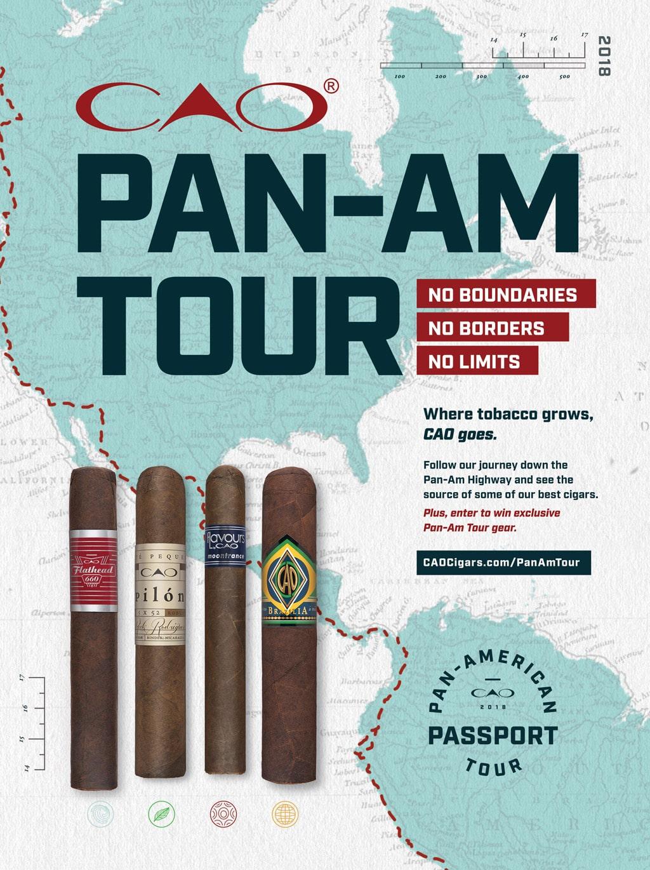 CAO Pan-Am Tour 2018