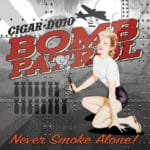 Cigar Dojo Bomb Patrol Sticker