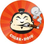 Cigar Dojo Starburst Sticker