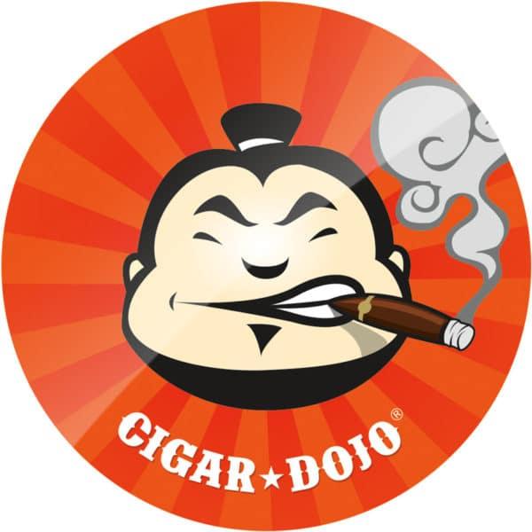 Cigar Dojo Starburst Sticker